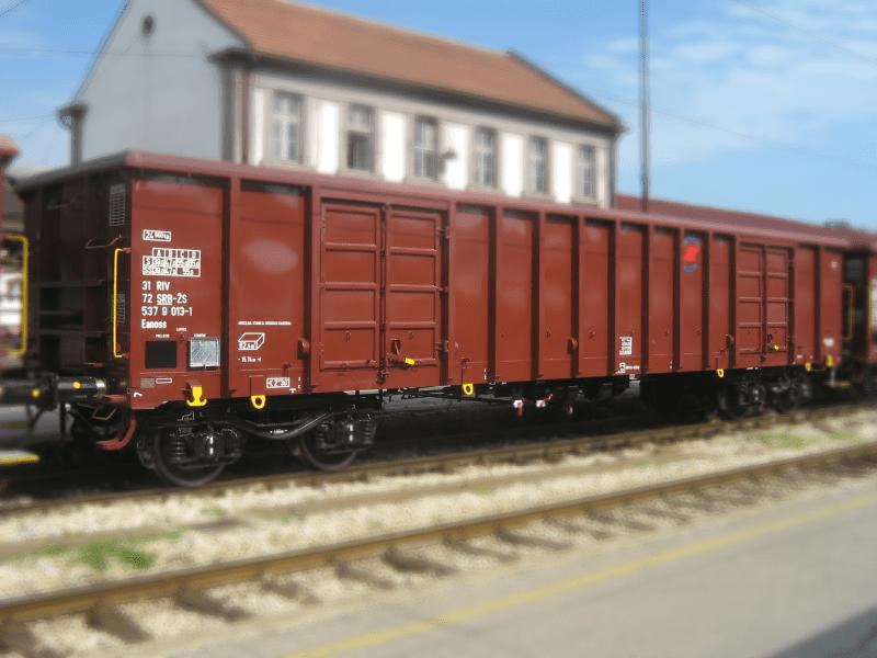 Standard high-sided open wagon