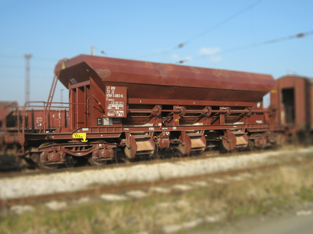 Special high-sided open wagon